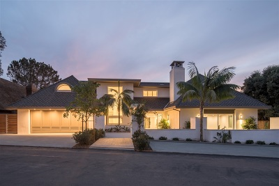 La Jolla Single Family Home For Sale: 7750 Lookout Drive