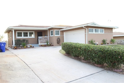 San Diego Single Family Home For Sale: 5145 Coban St