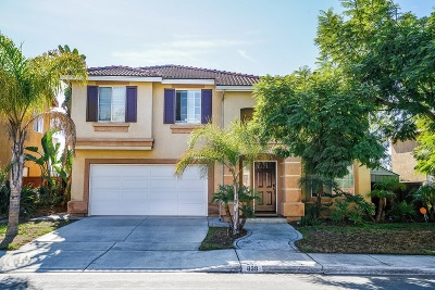 Chula Vista Single Family Home For Sale: 838 Camino Del Sol Rd.