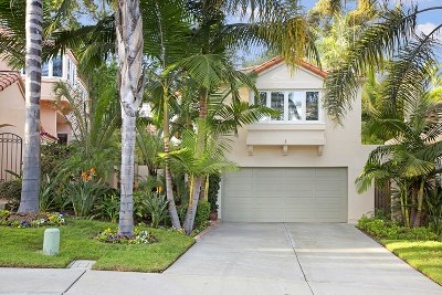 Del Mar Single Family Home For Sale: 13512 Caminito Carmel