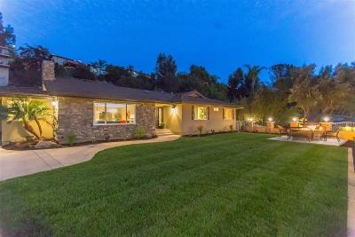 Del Cerro, Del Cerro Heights, Del Cerro Highlands, Del Cerro Terrace Single Family Home For Sale: 5859 Madra Avenue