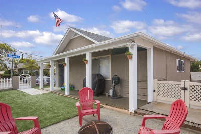 San Diego Single Family Home For Sale: 4902 73rd St