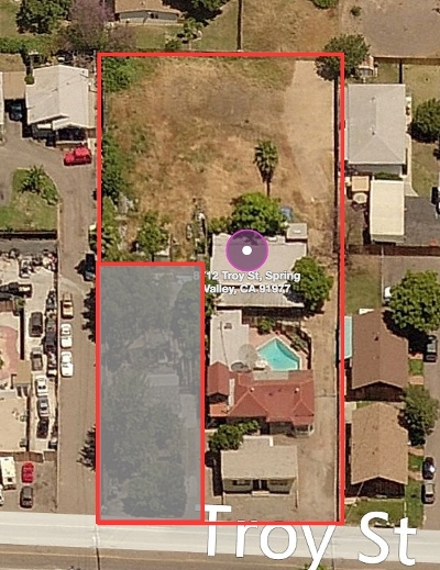 San Diego County Multi Family 5+ For Sale: Troy St.