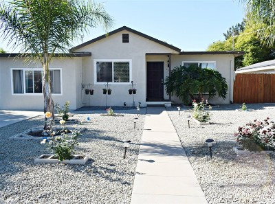 San Diego County Single Family Home For Sale: 3326 Meridian Ave