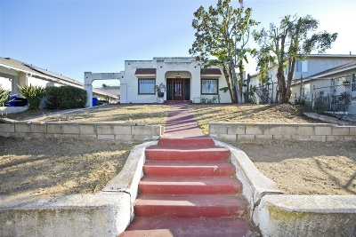 San Diego Single Family Home For Sale: 2719 Broadway