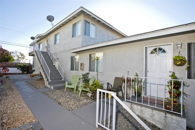 South Park, Golden Hill Multi Family 2-4 For Sale: 2709 Broadway