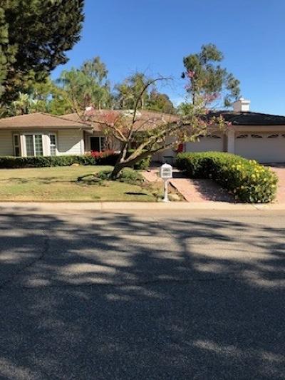 Single Family Home For Sale: 3362 Avenida Sierra