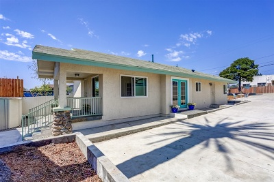San Diego Single Family Home For Sale: 2968 F St