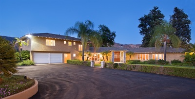 Escondido Single Family Home For Sale: 1510 Cloverdale Road