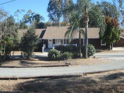 Single Family Home For Sale: 1866 Foxfire Road