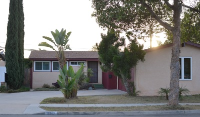 San Diego Single Family Home For Sale: 5567 Brunswick Ave