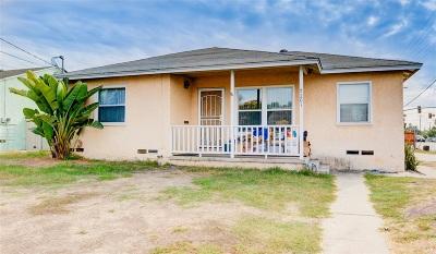 La Mesa Single Family Home For Sale: 7201 Carmenita Rd