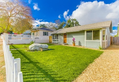 Escondido Single Family Home For Sale: 610 E 4th