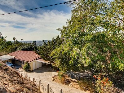 La Mesa Single Family Home For Sale: 4940 La Cruz