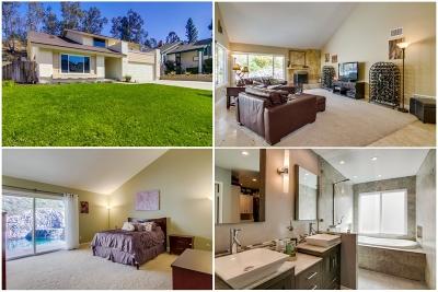 La Mesa Single Family Home For Sale: 11027 Paseo Castanada