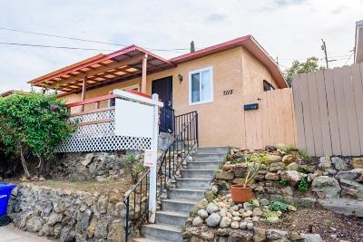La Mesa Single Family Home For Sale: 7115 Boulevard Dr.