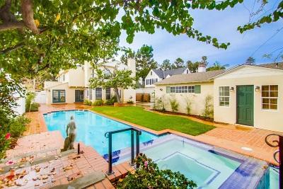 Coronado Single Family Home For Sale: 829 Margarita Avenue
