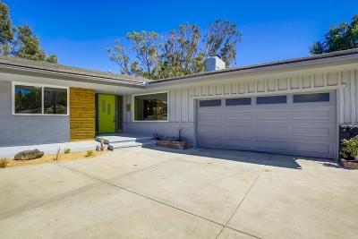 La Mesa Single Family Home For Sale: 9478 Loren Dr