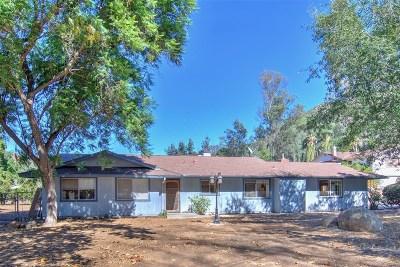Escondido Single Family Home For Sale: 3641 Bangerter Ct