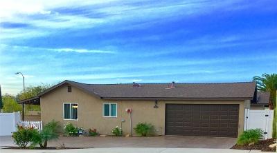 Escondido Single Family Home For Sale: 2124 Oak Hill Drive