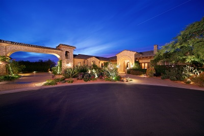 Rancho Santa Fe CA Single Family Home For Sale: $5,695,000