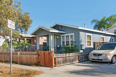 San Diego Multi Family 2-4 For Sale: 4525 35th Street