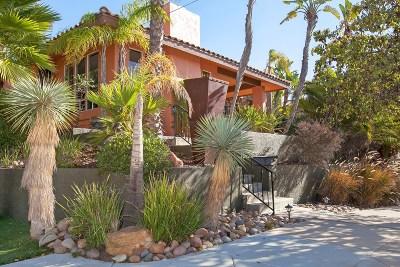 Mission Hills, Mission Hills/Hillcrest, Mission Valley Single Family Home For Sale: 3369 Hawk Street