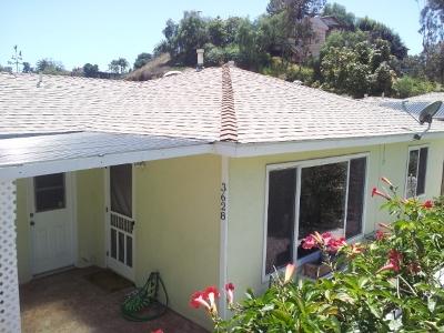 San Diego County Single Family Home For Sale: 3628/3630 Reynard Way