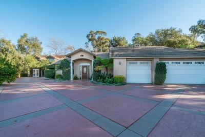 Single Family Home For Sale: 461 Estrelita Dr