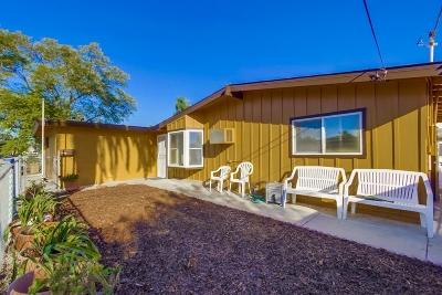 La Mesa Single Family Home For Sale: 6081 Nancy Drive