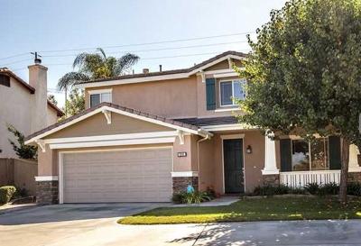 Oceanside Single Family Home For Sale: 2341 Bliss Cir