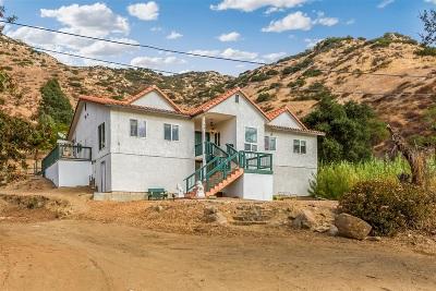 El Cajon Single Family Home For Sale: 1057 Dehesa Ranch Rd