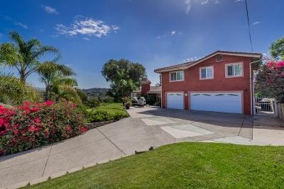 Single Family Home For Sale: 3468 Bonita Woods