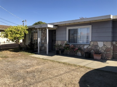 Oceanside Single Family Home For Sale: 1232 Langford St