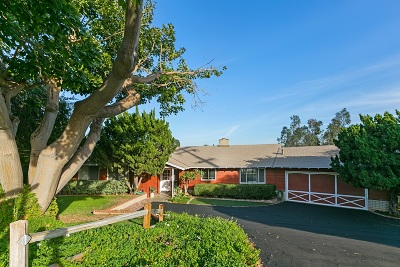 Fallbrook Single Family Home For Sale: 135 Orvil Way