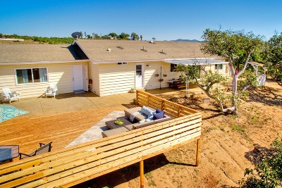 Single Family Home For Sale: 31725 Rancho Amigos Rd