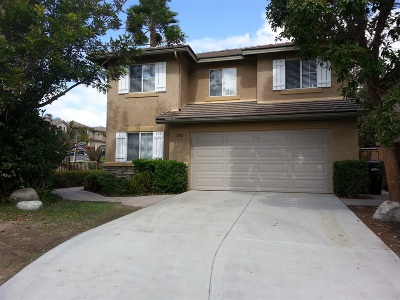 San Diego Single Family Home For Sale: 4702 Carbine Way
