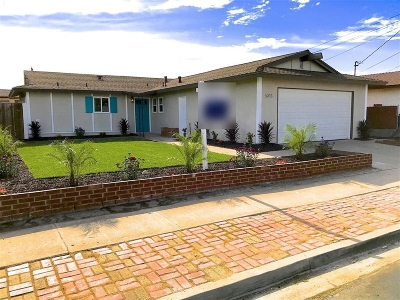 San Diego CA Single Family Home For Sale: $689,000