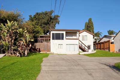 Mission Hills Single Family Home For Sale: 3731 Columbia St