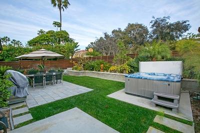 Del Mar CA Single Family Home For Sale: $3,695,000