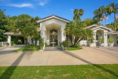 el cajon Single Family Home For Sale: 1692 Hidden Mesa Rd