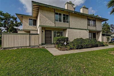 San Diego Townhouse For Sale: 9611 Caminito Tizano