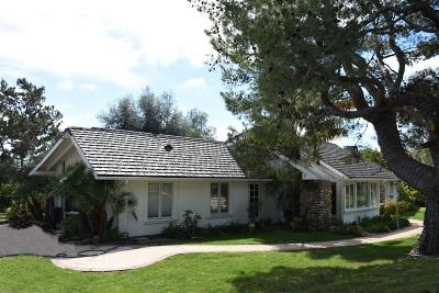 Rancho Santa Fe Single Family Home For Sale: 5333 Los Mirlitos