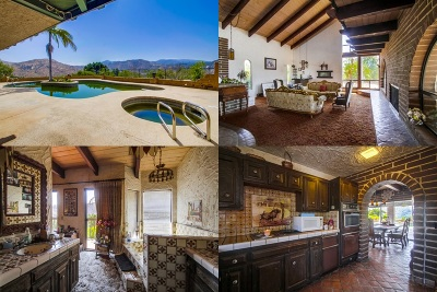 Escondido Single Family Home For Sale: 4135 Vista Bonita Ln