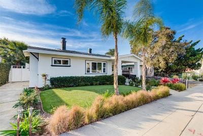La Jolla Single Family Home For Sale: 7436 Fay Ave