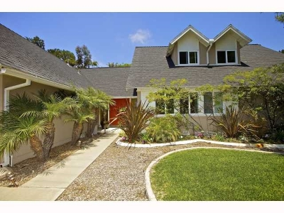 San Diego CA Single Family Home For Sale: $1,100,000