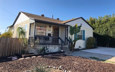 El Cerrito, El Cerrito/West College Single Family Home For Sale: 6055 Carol St