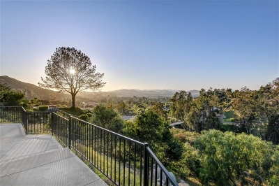 Poway Single Family Home For Sale: 13260 Arroya Vista Road