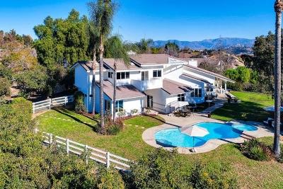 Single Family Home For Sale: 2391 Vista Valle Verde