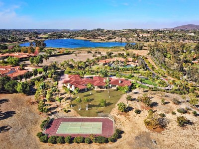 Rancho Santa Fe Single Family Home For Sale: 6625 Lago Lindo